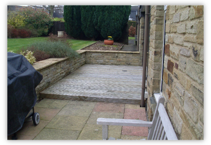 Walling and Patio Areas in Knaresborough